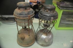 2 TILLEY LAMPS, ENGLAND, FOR PARTS OR REPAIR