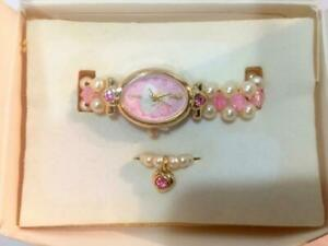 Avon Barbie Watch and Ring Set/New Old Stock