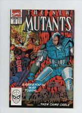 New Mutants #91 - Cable Cover - (Grade 6.0) 1990