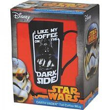 Tall Ceramic Latte Mug - Darth Vader Ceramic Mug, Boxed Cup. Genuine Star wars