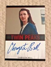 2018 Rittenhouse Twin Peaks Chrysta Bell Autograph Card as Tammy Preston Mint