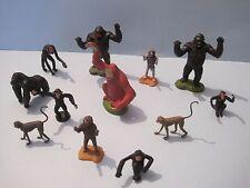 Britains plastica zoo animali: GORILLA APE SCIMMIA CHIMPANZEE Collection