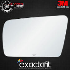 exactafit REPLACEMENT DRIVER SIDE POWER MIRROR GLASS FIT OVER FLAT AUTO DIMMING