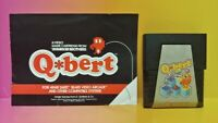 Atari 2600 Q Bert Game & Instruction Manual Tested Works Rare