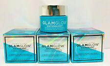 Glamglow Waterburst Hydrated Glow Moisturizer 0.5oz./15mL X3