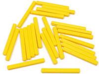 LEGO Technik - 25 x Achse / Kreuzachse 5 Noppen lang gelb / 32073 NEUWARE (L11)