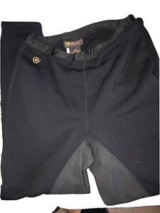 Ariat Black Childrens Fleece Breeches/Tights Size Large