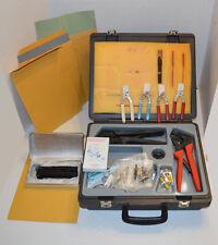 AMP LightCrimp XTC Combined Fiber Termination Kit 503330-1 / Clean