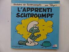 Livre disque L apprenti schtroumpf 810978 7