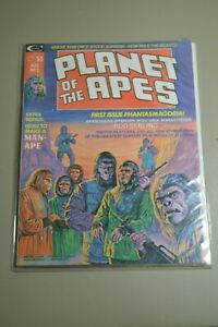 Vintage Planet of the Apes #1 August 1974 Rod Serling Bonus Issue Very Good