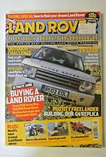 Land Rover Owner International Magazine. August Issue 9, 2004.  a flaming 6x6!