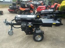 NEW 40 Ton Log Splitter, 13hp Engine, Side Table & Jockey Wheel, Splits Redgum