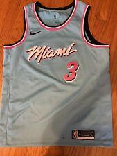 DWYANE D WADE NBA JERSEY MIAMI HEAT #3 SWINGMAN Nike MENS L