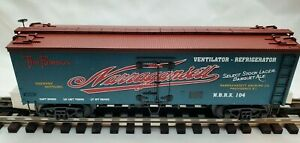 MTH Premier 20-94317 Narragansett Ale 36' Wood sided Beer Reefer  O Gauge .