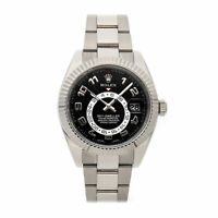Rolex Sky-Dweller White Gold Auto 42mm Mens Watch Oyster Bracelet 326939