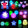7 Colors Changing LED Night Light Decoration Candle Lamp Nightlight Holiday
