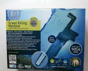 AA Aquarium Green Killing Machine Internal UV with Power head GKM 9W