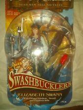 Disney Pirates Caribbean NEW Swashbucklers Elizabeth Swann 2008 Toy Figure
