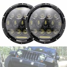2Pcs 7Inch 150W CREE LED Headlight H4 DRL Hi/Lo Beam For JEEP LJ JK TJ Wrangler