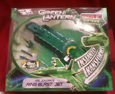 Green Lantern Hal Jordan Ring Blast Jet With Figure Transforms Jet To Tank Toy