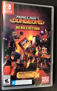 Minecraft Dungeons [ Hero Edition ] (Nintendo Switch) NEW