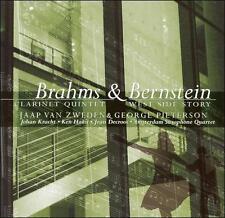 Brahms: Clarinet Quintet; Bernstein: West Side Story, New Music