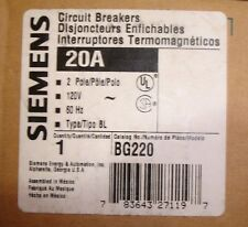 New Siemens Bg220 Switched Neutral Bolt in Circuit Breaker Type Bl Ships Today