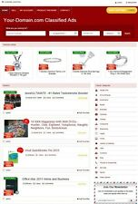 CLASSIFIED ADS WEBSITE BUSINESS FOR SALE! MOBILE FRIENDLY! WITH ACTIVE LISTINGS