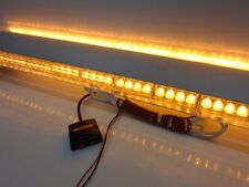 "Roof Mount 336 WATT 112 LED 60"" Inch Emergency Light Bar Amber Tow Plow Truck"
