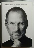 Steve Jobs Signed by Walter Isaacson Autographed Hardback CNN, Time Mag