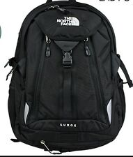 New w/ Tags The North Face Surge Backpack Laptop Approved Black