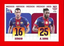 FC BARCELONA 2012-2013 Panini - Figurina-Sticker n. 20 - SERGIO - SONG -New