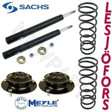 Volvo 240 90-93 Front Left & Right Susp KIT Struts Spacers Springs Sachs ST