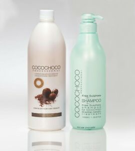 COCOCHOCO Keratin Treatment Hair Straightening & Free Sulphate Shampoo Best Set