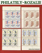 CZECHOSLOVAKIA BLOCK STAMPS MNH  1965 Mi 1538/1541 NATIONAL SPARTAKIADE (II)