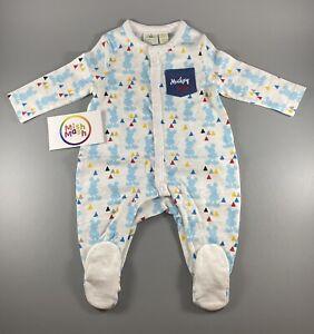 NEW Disney Baby Mickey Mouse sleepsuit All In One Romper Babygrow Nightwear gift