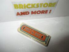 1x Brick 1x2x5 Hieroglyphs Half Circle Pattern 2454px4 Lego