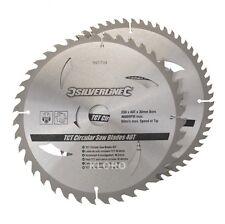 SILVERLINE Hartmetall-Kreissägeblatt 2 Stück  250 mm 991704