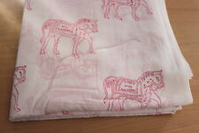 5 Yards soft Cotton Indian Fabric Horse Design Hand Block printed fabric fab42