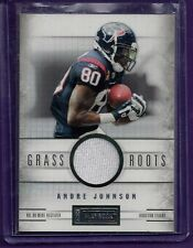 """Andre Johnson Patch /99 2012 Panini Playbook """"Grass Roots"""" #75  Texans   131"""