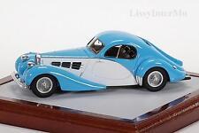 Bugatti t57 C Fastback Nicolas Cage 1937 Chromes 1:43 Nuovo/Scatola Originale