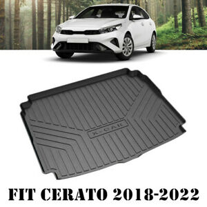 Heavy Duty Trunk Cargo Mat Boot Liner Luggage Tray for Kia Cerato Hatch 2018-21