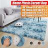 Fluffy Floor Rugs Anti-Slip SHAGGY RUG Soft Carpet Mat Living Room Bedroom Home