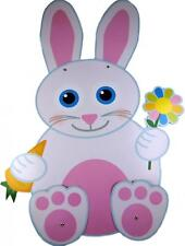 XL 70cm Tall Jointed Cardboard Easter Rabbit Decoration - Party or Shop Display