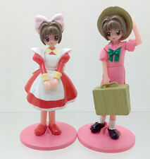 Japan anime Cardcaptor Sakura KINOMOTO SAKURA pvc figure set