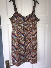 FOREVER 21 FLORAL DRESS SIZE M NEW WITH TAGS