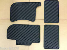 2000 - 2007 Subaru Impreza WRX STI All weather Rubber Floor Mats Genuine OEM