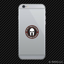 God Will Judge Our Enemies We'll Arrange The Meeting Cell Phone Sticker v7c