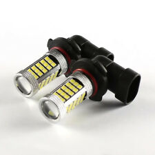 2x 9005 HB3/9145 H10 60W 6000K LED Cree Projector Fog Driving Light Bulb White