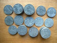More details for george v florins 0.925 or 0.500 silver 1911 to 1936 - choose your date or grade